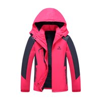 athletic letter jackets - Outdoor Apparel Camping Hiking Liner Jackets Women Jacket Waterproof Windbreaker Hoodies Fleece Jacket Athletic Overcoat Ladies Sportswear