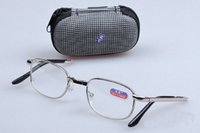 Wholesale 2016 high quality folding Reading Glasses Diopter Strength Separate packing