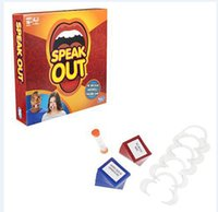 Wholesale Speak Out Game Best Selling Board Game Interesting Party Game for christmas for hallowmas Of with high quality and fast shippment BB