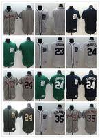 gibson - 2016 Flexbase MLB Stitched Detroit Tigers Verlander Cabrera Gibson Blank White Blue Green Gray Baseball Jersey Mix Order