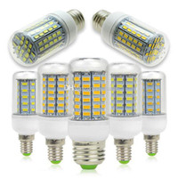 Wholesale New Dimmable E12 E14 E26 E27 B22 G9 GU10 LED Corn Light Bulb W W W W W W SMD5730 LED Corn Lamp