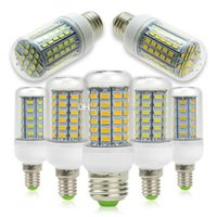 Wholesale New E12 E14 E26 E27 B22 G9 GU10 LED Corn Light Bulbs Dimmable W W W W W W SMD5730 LED Lamp