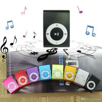 Wholesale High Quality MINI Clip Sport MP3 Player with Micro TF SD Card Slot Metal Digital MP3 Music Players