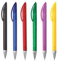 action company - Free color logo plastic twist action ads promo school supplies trade company logo customized ball pen