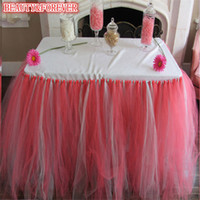 Wholesale Customizable wedding table skirt multicolor cake table skirt Polyester Solid in Height polyester table skirt