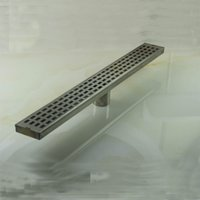 Wholesale PHASAT Stainless Steel S Trap Drains Bathroom Square Shower Floor Drain Deodorization Type Strainer And Retail