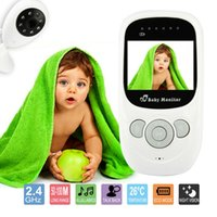 Wholesale Inch Baby Monitor Wireless Digital babyfoon camera Video Security Two way Talk Night Vision Lullabies Temperature GHz