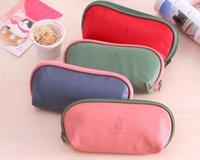 2X sac à main de sac de couleur aléatoire 2Shapes Candy Colors City Symbole 20CM - stylo de stylo plume BAG Pouch Case, fille Lady Coin Purse BAG