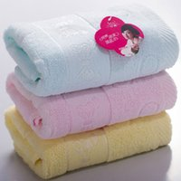 Wholesale Soft tissue thickening super absorbent dry hair beauty towel wash butterfly cotton towel g
