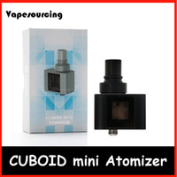 add technology - Joyetech Cuboid Mini Atomizer ml Capacity Exclusive TFTA Tank Technology with Newly Added NotchCoil Invisable Airflow Original