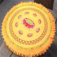 Wholesale lotus meditation cushions embroidery lotus buddhist supplies cm