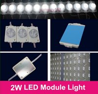 led box sign - 2016 Direct Sale SMD3030 W LED Modules Light SMD With Lens DC12V LED chip light For LED sign Light Box