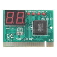 al por mayor publicar diagnóstico pci tarjeta de ordenador portátil-PCI PC de diagnóstico de 2 dígitos de la tarjeta de la placa madre Post Tester Analyzer Checker Laptop