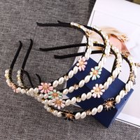 Wholesale 2016 Hot Sale Vintage Cheap Hair Band For Bridal Crystal Beads Hair Extensions Accessories Real Image