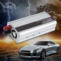Wholesale New W WATT DC V to AC v Car Power Inverter Converter Transformer Power Supply hot selling