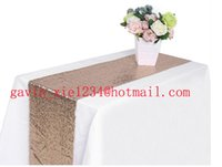 beaded table runners - CM X CM new fashion heavy beaded glitter gold sequin table runner for wedding party decoration