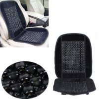 Wholesale Cushion Wooden Beads - Universal Wooden Bead Massage Massaging Car & Van Bead Seat Cover Cushion Black Cheap cover for nokia 5800