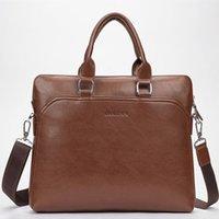 Wholesale Men bag famous brands PU leather bag High Quality men messenger bags vintage laptop bag briefcase handbag