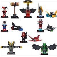 best marvel heroes - 480pcs Sale Marvel Avengers Super Heroes Batman Clown Building Blocks Set Minifigures Classic Toys Best Children Gift