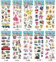 Wholesale Cartoon Stickers for Kids Poke Zootopia Patrol Dog Avenger Halloween Kawaii Foam Stickers Home Decoration Children Gifts Toys