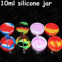 best toy cosmetics - Best quality wax vaporizer pen silicone non stick container colorful cosmetic container silicone bho oil jars ml silicone case for wax