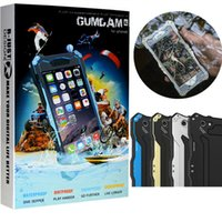 al silver - Original R JUST Gundam AL IP68 M Dirtproof Shockproof Waterproof Snowproof case for iphnne6 s s plus