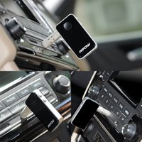 Wholesale Streambot Mini Hands Free Audio Car Styling mm Stereo Output Music Streaming Bluetooth Receiver Wireless Adapter