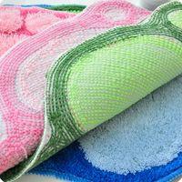 Wholesale New Absorbent Soft Wool Carpet Bath Bathroom Bedroom Floor Shower Mat Rug Non slip High Quality CM
