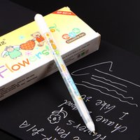 Wholesale MM White Ink Color Photo Album Gel Pen Stationery Office Learning Cute Pen Unisex Pen Gift for Kids gp801 n