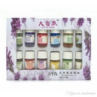 Wholesale Brand New Essential Oils Pack for Aromatherapy Spa Bath Massage Skin Care Lavender Oil With Kinds of Fragrance