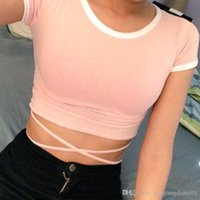 Wholesale 2016 New Fashion Women Tank Tops Bustier Bra Vest Crop Top Bralette Sleeve Blouse