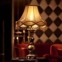 Wholesale led desk lamp desk lights table lighting vintage european style desk lamps bedroom lamp V V CE ROHS SAA FCC UL