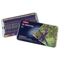 Wholesale Set Derwent Inktense Pencils Tin Set Soluble Pencil for Painting rotulador