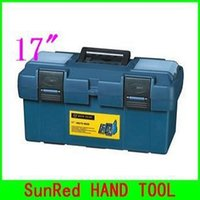 Wholesale BESTIR plastic tool box size quot blue color high quality tool box tool case workbox NO good price