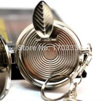 Wholesale 2015 New Pocket Stainless Steel Portable Round Cigarette Ashtray With Keychain DHL Fedex