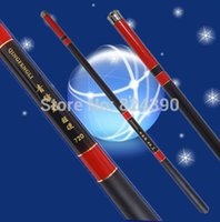 Wholesale Ultrashort Fishing pole ULTRA LIGHT and superhard carbon telescoping pole fishing Rod The stream rod M SG001
