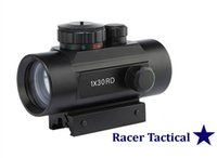 Wholesale Racer Tactical Hunting Scope Red Green Dot X30 Sight Nitrogen filled waterproof fogproof mm Rail Mount