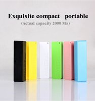 Wholesale Special offer mAh Power bank mAh USB PowerBank Portable External Battery Charger for iphone Samsung Power banks