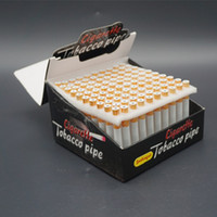 bat accessories - mm Aluminum Pipe Cigarette Shape Bat Tobacco Pipe Mini Smoking Hookah Pipes Accessories Portable Metal Smoking Pipes