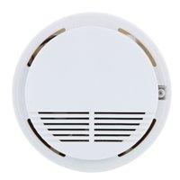 Sistema de seguridad Humo del incendio sin hilos del detector del <b>sensor</b> de alta sensibilidad estable humo fotoeléctrico de humo alarma de incendio del detector del <b>sensor</b> para el hogar