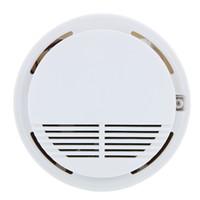 Wholesale Wireless Fire Smoke Detector Sensor High Sensitivity Stable Photoelectric Smoke Alarm Fire Smoke Detector Sensor Security System for Home