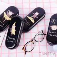 Wholesale Sweet series eyeglasses case Kawaii printing eyewear cases stationery zakka box material escolar school supplies tt