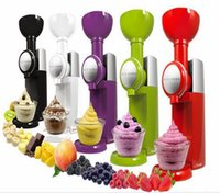 Wholesale V V US UK EU plug available Big Boss Swirlio Frozen Fruit Dessert Maker ice cream machine shake machine