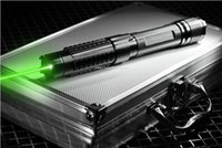 al box - High Powered Adjustable Burning Lazer Pointer nm Green Laser Pointer Pen with Charger Glasses in Al Box