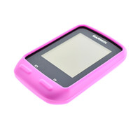 Wholesale Outdoor Road Mountain Bike Cycling Pink Rubber Protect Skin Cover Case For Garmin Training GPS Edge Edge510