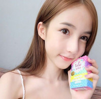 Wholesale 2016 New Hot Fast Shipping OMO White Plus Soap fruitamin soap Mix Color Plus Five Bleached White Skin Gluta Rainbow Soap
