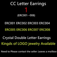 Wholesale Gold Plated Luxury C c Earrings shop has imitation version of the product please leave your email box or WhatsApp