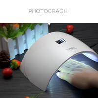 Wholesale SUN9s SUN9c W USB LED Lamp Nail Dryer UV Nail Lamp Double Light Lamp for Nails UV Gel Polish Nail Art Tools A2