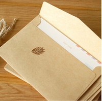 airmail paper - blank kraft paper envelope papeleria vintage airmail scrapbooking accessories kawaii stationery Graduation card party invitation