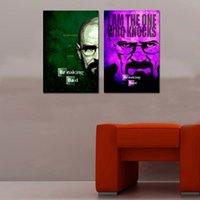 bad pictures - Original US High tech HD Print Portrait Oil Painting Art On Canvas Breaking Bad panels set Unframed
